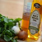 Quinoa Salad with Rice Bran Oil Dessing