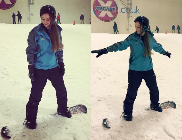 snowboarding lessons xscape