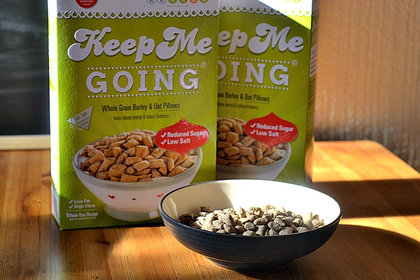 Keep Me Going Cereal