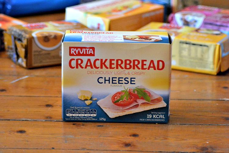 ryvita crackerbread cheese