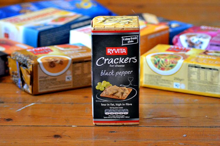 crackers black pepper