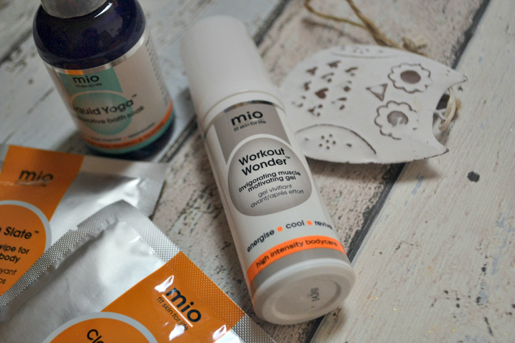 mio skincare workout wonder