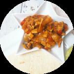 WIAW // Vegetable Fajitas