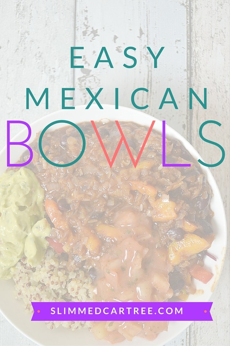 Easy Vegan Mexican Bowl