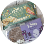 Kallo Quinoa & Seeds and Chocolate Rice Cakes