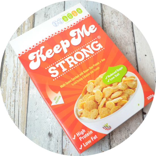 Keep Me Strong High Protein Cereal