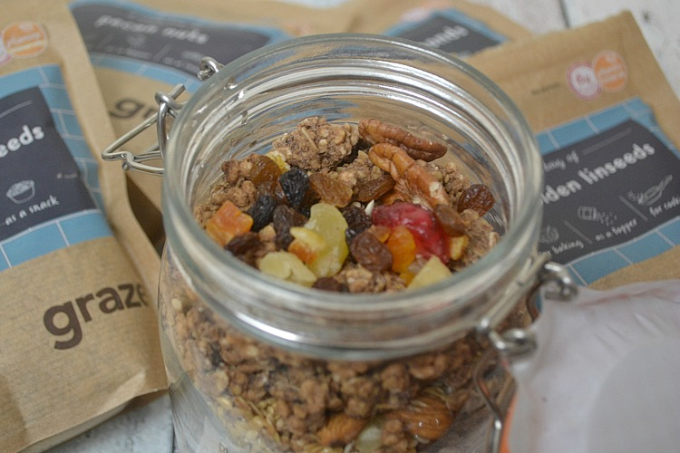 Make your own layered granola