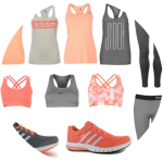 Sports Direct Wishlist // Coral and Grey