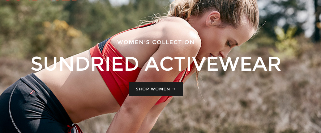 sundried active wear