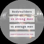 The world's strongest vs. most shredded vs. average bodies