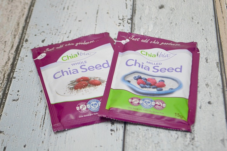 degustabox september Chia Bia Whole & Milled Chia Seed Sachets
