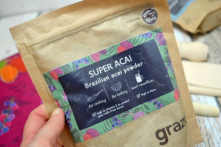 Graze superfood pouches