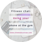 Are you allowed to use your phone between sets at the gym?