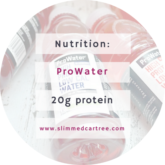 ProWater // The new high protein, low calorie drink