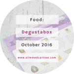 Degustabox October 2016