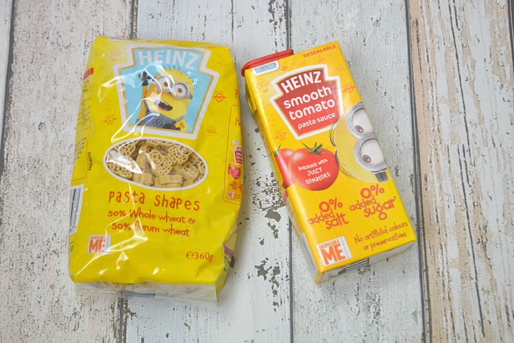 Degustabox October 2016 heinz kids