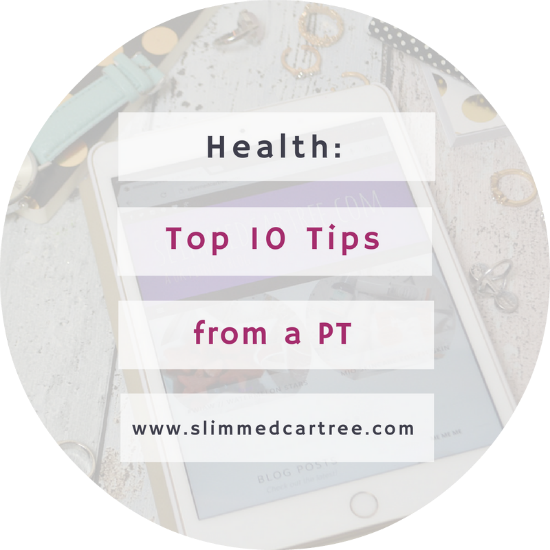 top 10 health and diet tips