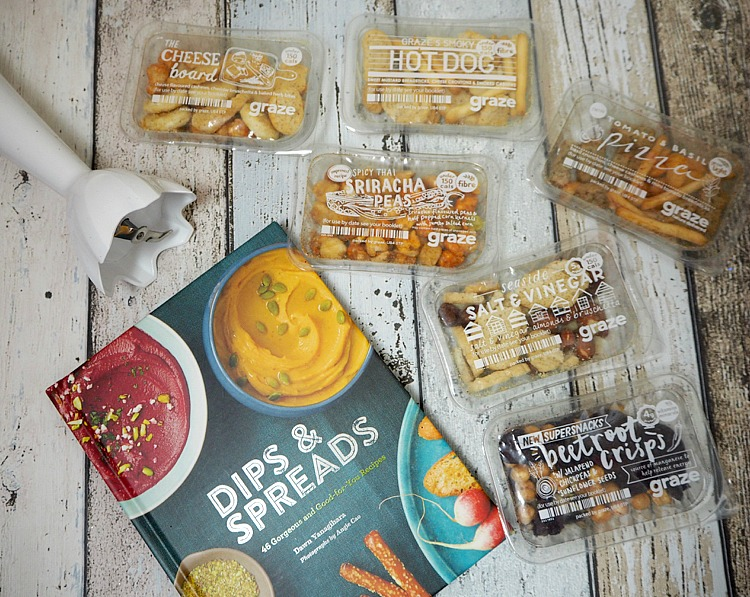graze box crisp alternatives