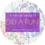 Fitness Update // I did a run!