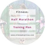 Training plan for my half marathon.