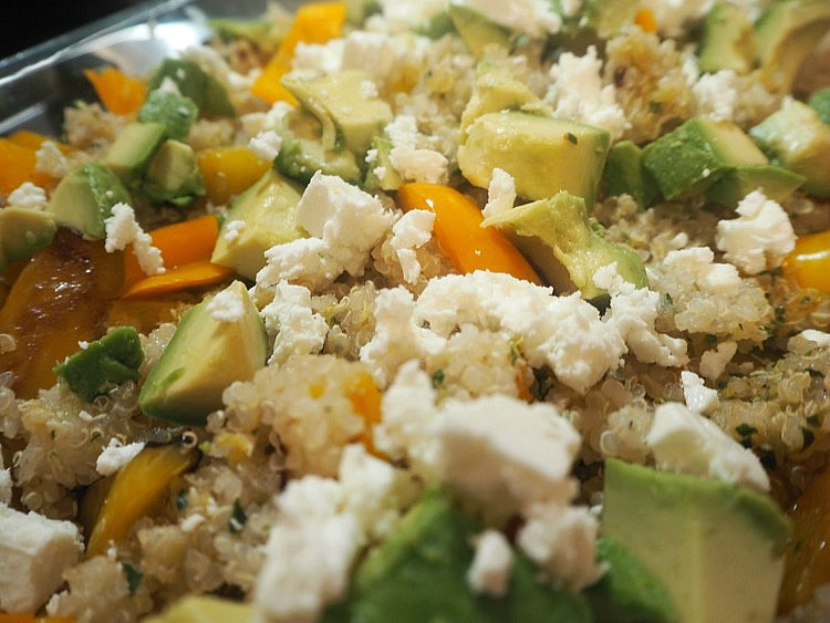 Easy Quinoa and Chicken Salad