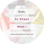 So Shape Challenge 1 Week In