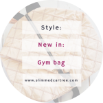 New Gym Bag from the Hunkemoller Caro E Range