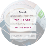 Chai and Vanilla Festive Shake