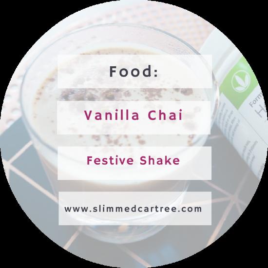 Chai and Vanilla Festive Shake