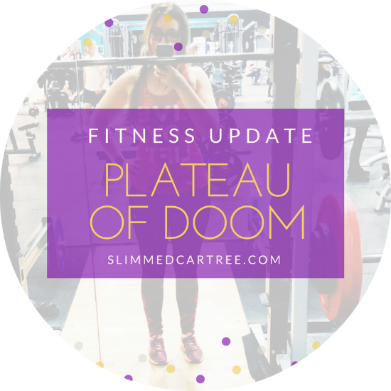 Fitness Update // Plateau of doom