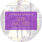 Fitness Update // Hacked site
