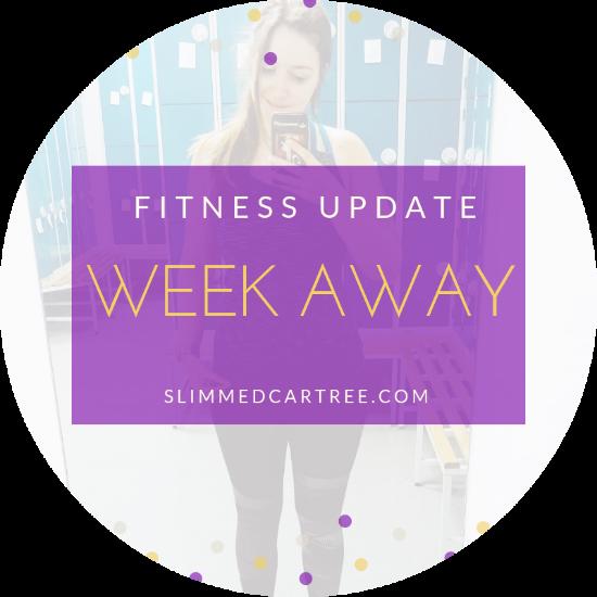 Fitness Update // Week away