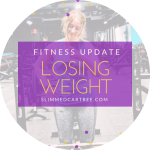 Fitness Update // Losing weight