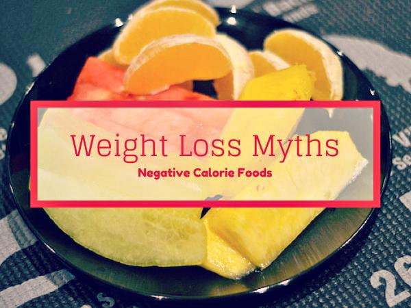 Weightloss Myths? // Negative Calorie Foods