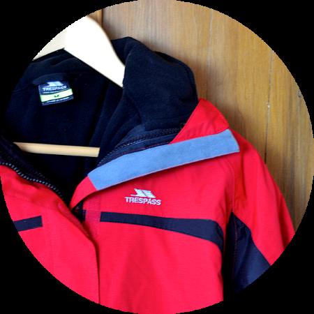Trespass 3-in-1 Waterproof Jacket