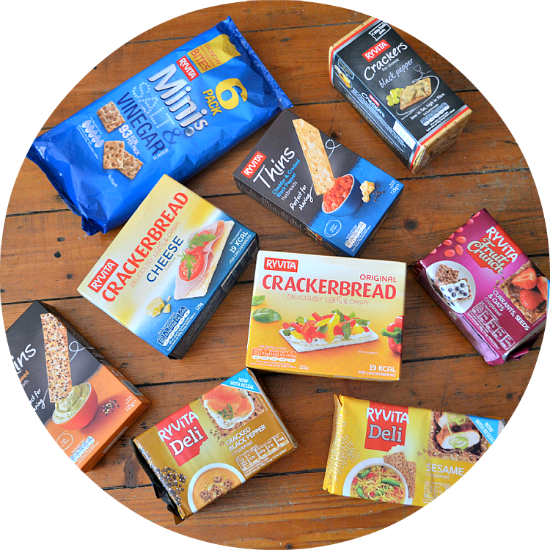 Opt for a healthy alternative with Ryvita