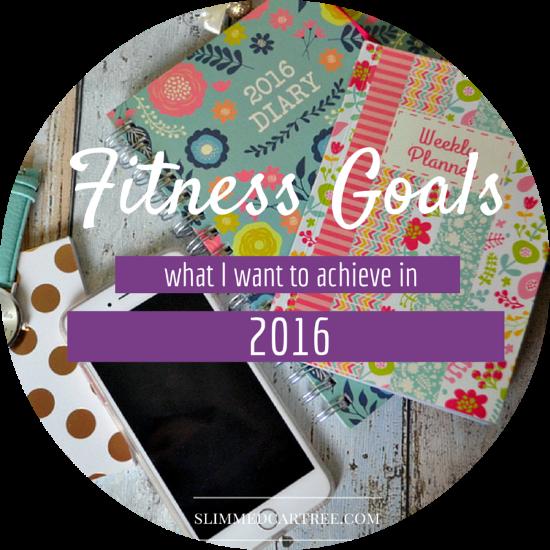 My Fitness Goals 2016