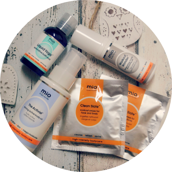 Mio Skincare for Fit Skin