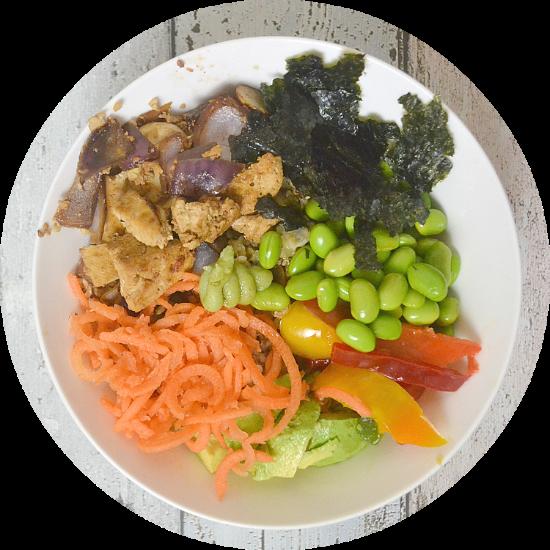 Vegan Sushi Bowl!