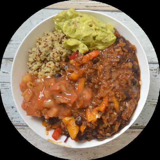 Easy Vegan Mexican Bowl