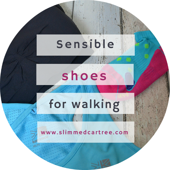 Suitable Walking Shoes