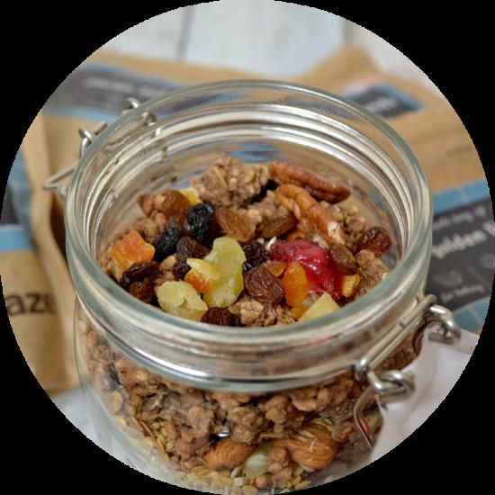 Make your own layered granola