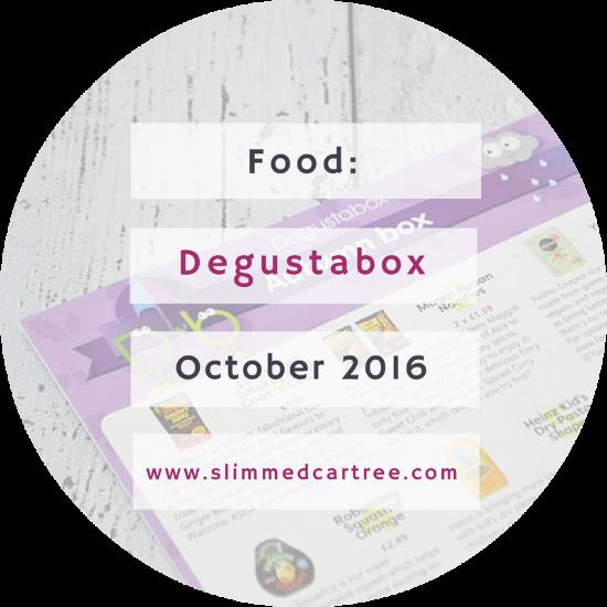 Degustabox October 2016