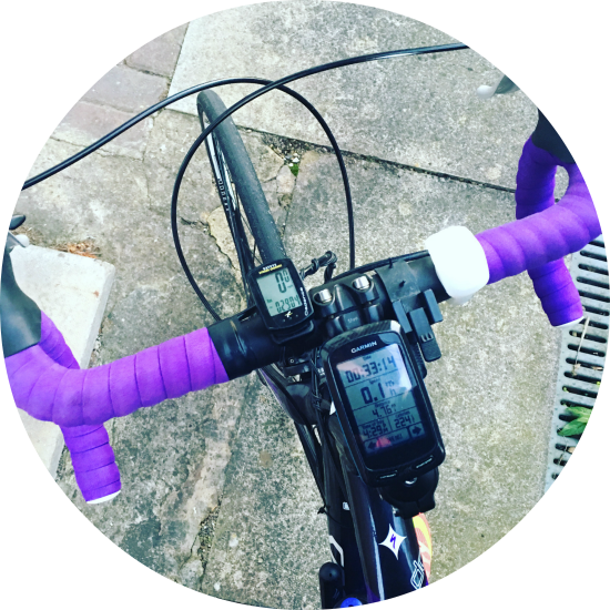 Fitness Update // A Chilly Bike Ride