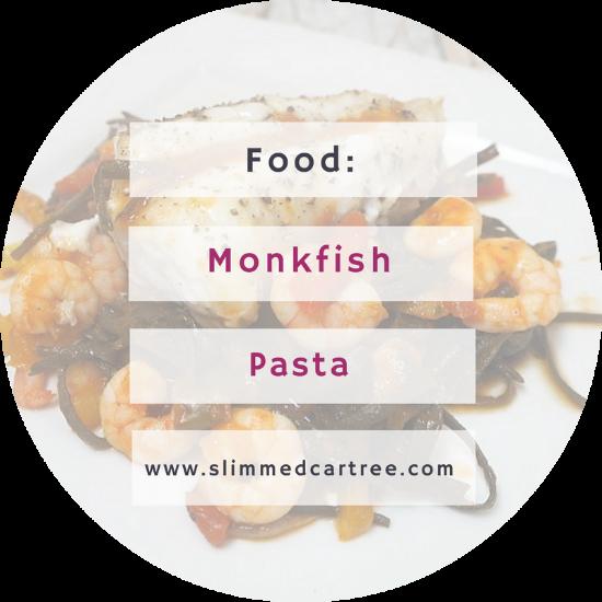 Monkfish and Seaweed Pasta