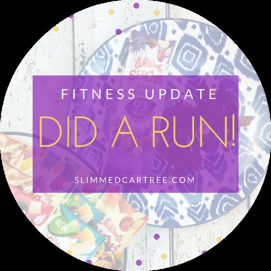 Fitness Update // I did a run!