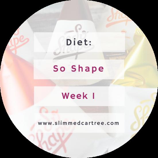 So Shape Challenge 1 Week In