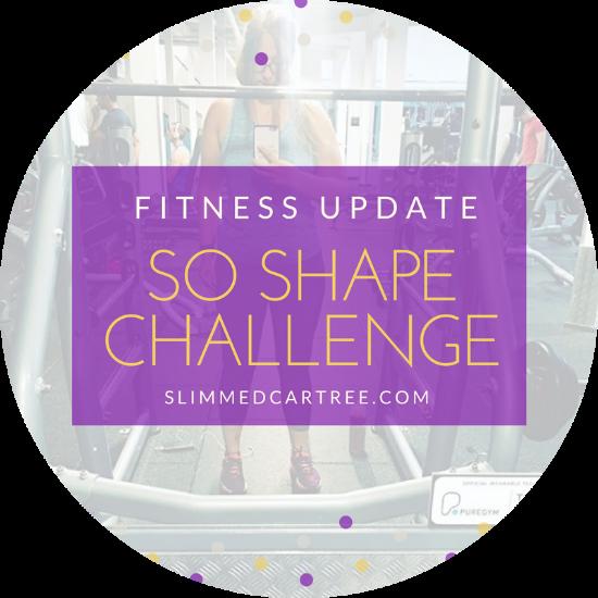 Fitness Update // #SoShapeChallenge