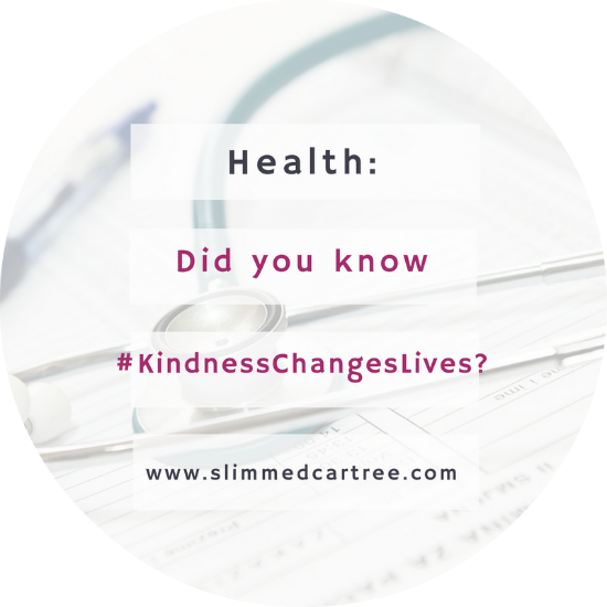 Did you know that #KindnessChangesLives ?