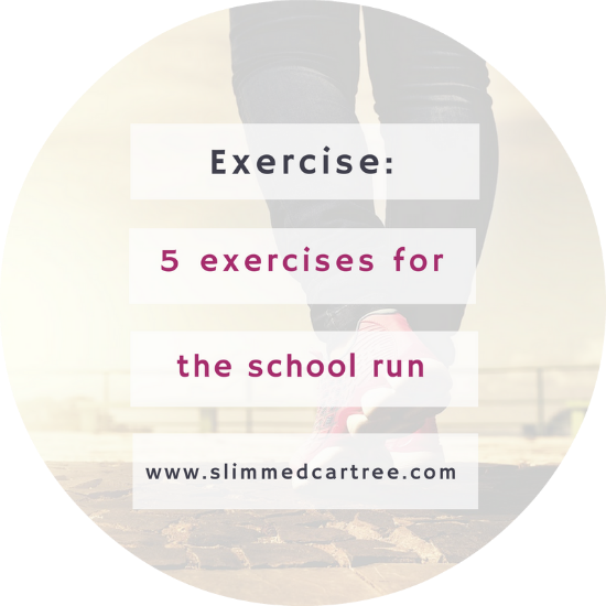 5 exercises you can do on the school run